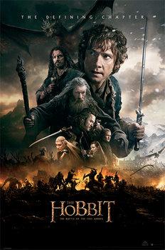 Juliste The Hobbit BOTFA - One Sheet