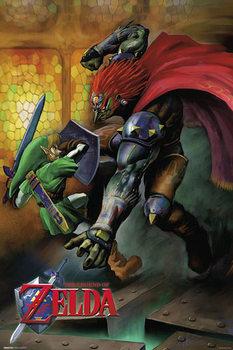 Juliste The Legend of Zelda - Fight