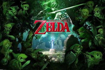 Juliste The Legend of Zelda - Link