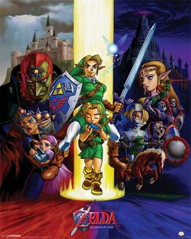 Juliste The Legend Of Zelda - Ocarina Of Time