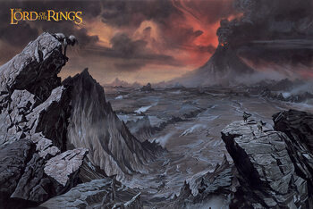 Juliste The Lord of the Rings - Mount Doom