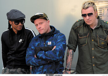 Juliste The Prodigy - Backstage at T In The Park festival, Scotland July 2015