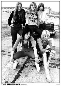 Juliste The Runaways - London 1976