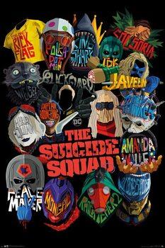 Juliste The Suicide Squad - Icons