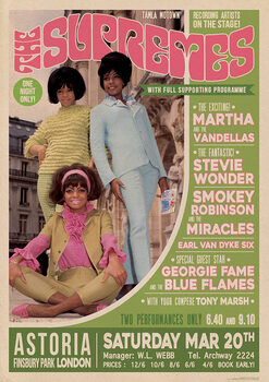 Juliste The Supremes - Live in London