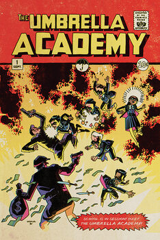 Juliste The Umbrella Academy - School is in Session