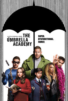 Juliste  The Umbrella Academy - Super Dysfunctional Family