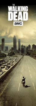 Juliste  The Walking Dead - City