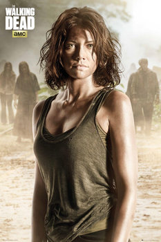 Juliste The Walking Dead - Maggie