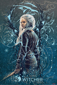 Juliste The Witcher - Ciri the Swallow