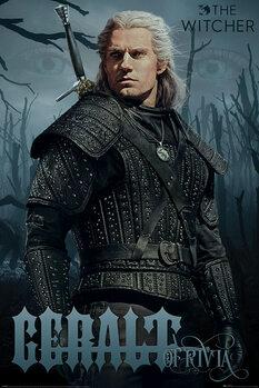 Juliste The Witcher - Geralt of Rivia