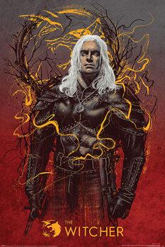 Juliste The Witcher - Geralt the White Wolf