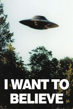 Juliste The X-Files - I Want To Believe