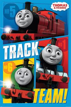Juliste Thomas & Friends - Track Team