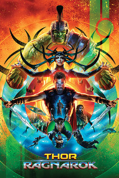 Juliste Thor Ragnarok - One Sheet