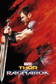 Juliste  Thor: Ragnarok - Thor Red Dust