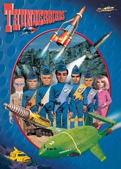 Juliste Thunderbirds - Puppets
