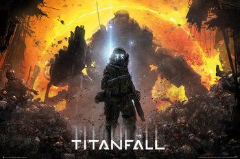 Juliste  Titanfall - Militia Pilot