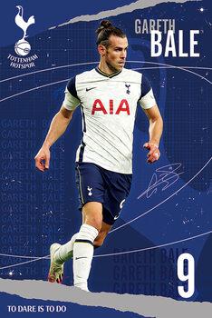 Juliste Tottenham Hotspur FC - Bale