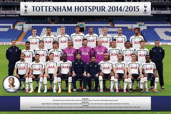 Juliste Tottenham Hotspur FC - Team Photo 14/15