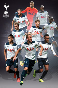 Juliste Tottenham - Players 16/17