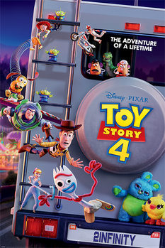 Juliste  Toy Story 4 - Adventure Of A Lifetime