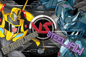 Juliste Transformers: Robots in Disguise - Bb Vs Steeljaw