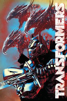 Juliste Transformers: Viimeinen ritari - Dragons