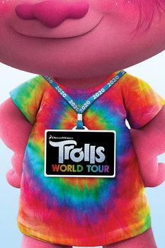 Juliste Trolls World Tour - Backstage Pass