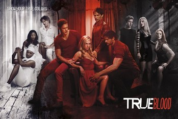 Juliste TRUE BLOOD - show your true co