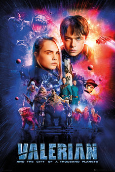 Juliste  Valerian and the City of a Thousand Planets - One Sheet