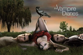 Juliste  VAMPIRE DIARIES - crow