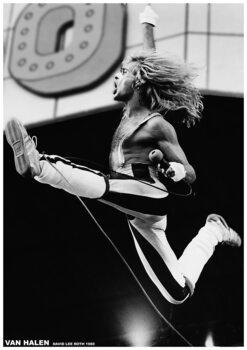 Juliste Van Halen - David Lee Roth 1980