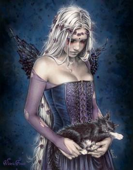 Juliste Victoria Frances - angel