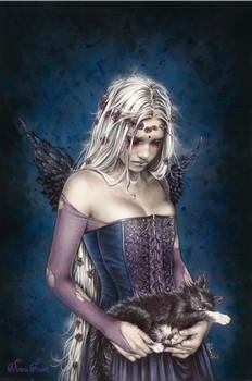 Juliste Victoria Frances - angel of death
