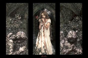 Juliste Victoria Frances - triptych