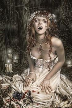 Juliste Victoria Frances - vampire girl