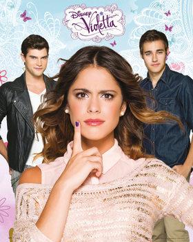 Juliste Violetta - Love