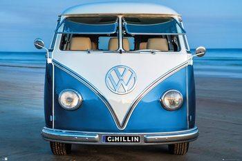 Juliste  Volkswagen - Brendan Ray Blue Kombi
