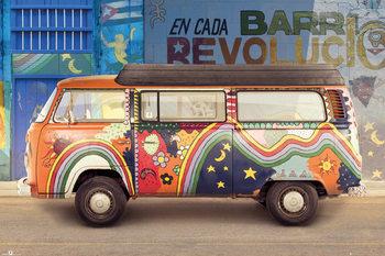 Juliste  Volkswagen - Cuba