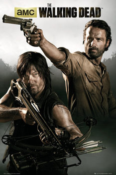 Juliste  WALKING DEAD - rick&daryl