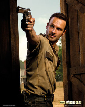 Juliste WALKING DEAD - rick