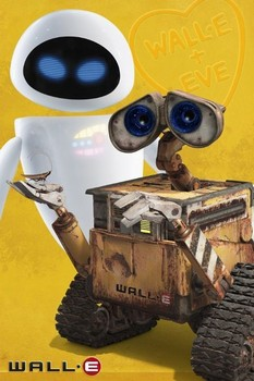Juliste  WALL-E - and eve