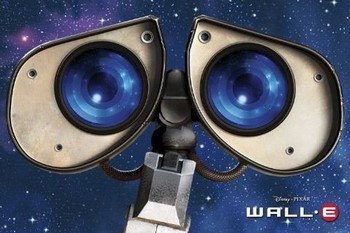 Juliste  WALL-E - eyes