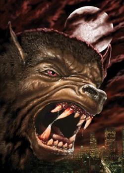 Juliste Werewolf city