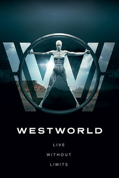 Juliste Westworld - Live Without Limits
