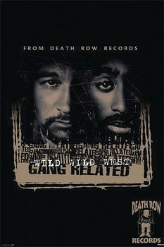Juliste Wild Wild West Gang Related - Death Row Records