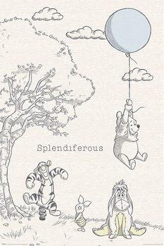 Juliste  Winnie the Pooh - Splendiferous