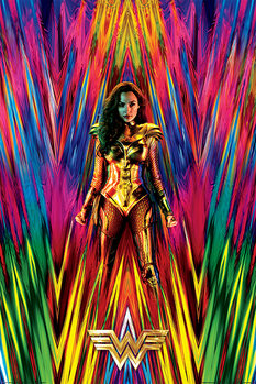 Juliste  Wonder Woman 1984 - Neon Static