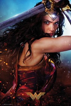 Juliste Wonder Woman - Defend